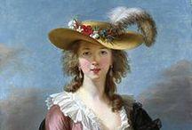 Elisabeth Vigee Lebrun / Portrait painter 1700s - 1800s