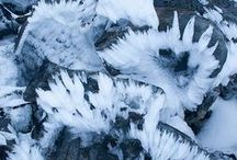 Frozen / Crystal Formations, fractal glaciers