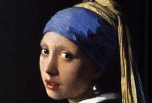 Jan Vermeer / Paintings by and inspired by Johannes Jan Vermeer