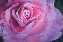 Roses Up Close / Macro Roses Up Close and Personal