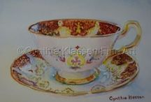 Paragon China / Beautiful classic and vintage fine bone china tea cups and saucers by Paragon