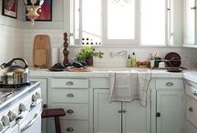 "Kitchen - interior / ""What are you doing there?"""