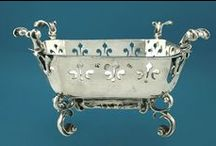SILVER...Diana or Luna..some of the names given by mediaeval Alchemists... / the confidence in silver as investments.., collectors searching for fine, rare pieces. .encouraging artists and silversmiths to reach new heights in creating wonderful pieces for endless uses.... / by Penny Christie