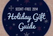Scent-Free 2014 Holiday Gift Guide / View our entire guide here: https://t.co/jnDQZmhmxH / by Scent-Free Canada