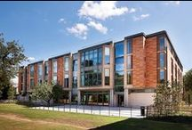 Building Category: Universities Commendation - Dickson Poon China Centre, Oxford / The new £16.7m Dickson Poon China Centre is a full turnkey project constructed for St Hugh's College, University of Oxford, by Galliford Try (GT) as main contractor.