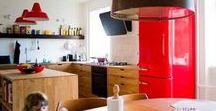 Køkken / inspiration til køkkener i massivt træ