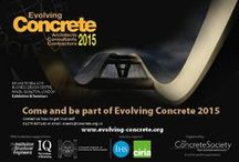 EVOLVING CONCRETE 2015 / Evolving Concrete takes place on 6–7 May at the Business Design Centre, located in the heart of Islington, with easy access to and from central London by public transport. The Concrete Society is delighted to welcome members, architects, consultants, contractors, students and industry suppliers to its debut exhibition and seminar event.