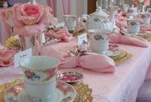 Tea Party in Pink / Elegant or shabby but always beautiful.