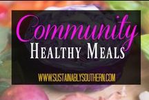Healthy Recipes Community / A community that focuses on the best of healthy recipes through family friendly photos, tips, recipes, and more. If you would like to join this community board of healthy friends, follow my page then e-mail me at jennifer@sustainablysouthern.com along with your Pinterest user name. We love people who are passionate about health. NO SPAM OR ADS!! Please note that pins with excessive #'s or a URL that misleads others will be deleted.