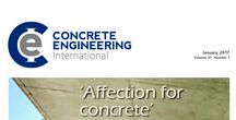 Concrete Engineering International, January 2017 / The January 2017 issue includes; Formwork and Falsework, Concrete Architecture, Tunnels and Tunnelling, Roads and Railways, Floors and Screeds, Concrete and Water, High-rise Construction.
