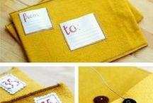DIY - fabric and yarn