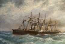 Seafarer / All the wonderful historical images that inspired my Seafarer collection...