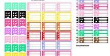 NediPlanner / #printableplanner #plannerstickers #printableplannerstickers #2018planner #2018yearlyplanner #yearlyplanner #lifebook #lifeplanner #plannerinsert #2018calendar #mealplanner #personalplanner #pdf #instantdownload