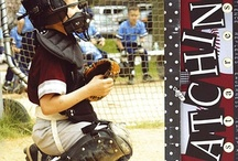 Baseball scrapbooking ideas / by Chad N Chey Byers