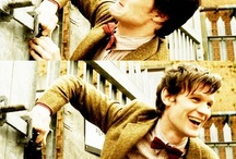 Time to make a Doctor Who Board / With, um, quite a bit of Matt Smith... / by Lady Anna Banana