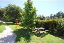 Lares Rehabilita • Jardín Lagar / Desde 2006 Lares trabajó en las mejoras del exterior de la Casa do Lagar: casi 7.000m2 de terreno con un enorme potencial, pero que se encontraban en parte dañados por las obras de construcción de la casa, y en gran parte infestados de eucalipto. Desde entonces trabajamos para recuperar esta preciosa finca, repoblándola además con especies autóctonas.   #Galicia #Vigo #Cangas #Rehabilitación #Jardín #Garden #Home Staging #Inmobiliaria Lares #Hio #Ría de Aldán