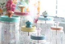 Mason Jar Crafts / Mason jar ideas for party and pantry.