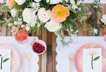 Beautiful Table Settings / For the perfect showpiece centrepieces and decorations