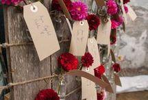 Escort Cards / Wedding escort card ideas.
