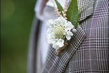 Beautiful Boutonnieres / Unique boutonnieres to inspire his look on the big day.