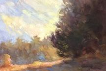 Landscape Inspiration / Ideas & inspiration for landscape painting | Landscape | Impressionist | Plein Air | Oil Paintings | Art