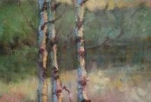 Tree Paintings / Ideas & inspiration for painting trees | Impressionist | Oil Paintings | Art