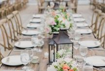 Tablescapes and Reception Decor / Make the reception a beautiful place to be!!