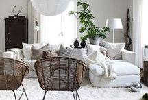 Hus og pynt og sånt / Et vakkert hjem skaper godt humør <3