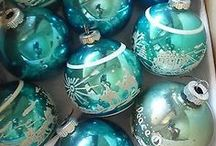 Upcycled & Vintage Holiday / Better late than never--last minute holiday ideas with vintage or up cycled charm  (this year family medical emergencies caused the holiday to be simple or late, and just grateful for what we have...next year we will make more of a fuss and do things up !)