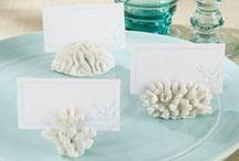 Beach Wedding / Decor ideas for beach weddings and nautical themed soirees.