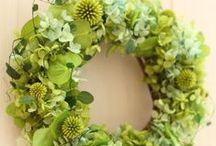 Wreath / プリザーブドフラワーリース