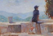 Figurative Paintings / Ideas & inspiration for figurative paintings | Impressionist | Oil Paintings | Art