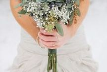 Winter Wedding / A beautiful collection of winter wedding attire and decor.