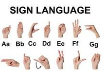 School: Sign language / Use sign language in class