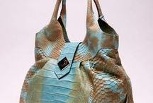 Luxury / #Handbags and accessories in #exotic #leather made by #Gleni