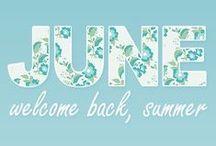 June moodboard / June's inspirations. #gleni #june #fashion #summer #handbags