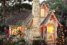 Houses and cottages ♥ / [None of the pictures are owned by me]