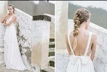 Truvelle / Truvelle is a collection for brides with a taste for the modern and non-traditional. At Bella Lily, we are excited for this collection to provide some much needed sparkle as well as effortless, modern touches.  Price Range $1,700-$2,200