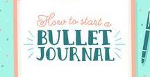 BuJo 2. - Hogyan kezd el a saját BuJodat? / Hogyan épül fel a Bullet Journal? És hogyan kezd el használni? Összegyűjtöttem pár ötletet neked.