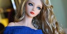Beautiful dolls / GLENI loves everything that is beautiful.  Beautiful Barbie dolls and others