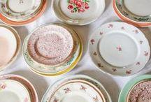 • mixed vintage tableware •
