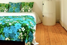 Groovy 60s-70s Linens / Linens, towels & textiles with a colorful, groovy vibe!