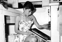 Cocina Vintage / Décadas llenas de historia en la cocina, las cocinas de nuestras abuelas actualizadas con la decoración más actual. ¡Lo vintage está de moda!