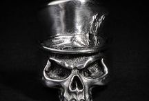 Skull Ring / These are collection of skull ring made by Fourspeed Metalwerks.