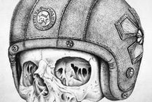 Drawing / This is a collections of drawings made by Fourspeed Metalwerks' artists