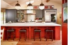Red Design Ideas / We are inspired by all Red Design Ideas & Decor!  Visit our facebook page: https://www.facebook.com/nufloorslangley
