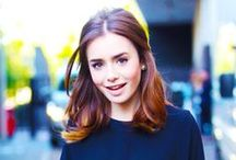 ACTRESS ● Lily Collins