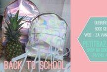 Back to school! / Back to school, sssssssttt nog efkes genieten van de vakantie, de zomer en de zon. Even wegdromen met zachte kleuren en leuke prints is altijd een keertje fijn. http://petitbazaar.be/mooieschoolspullen.html