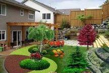 Puutarha : hoito ja suunnittelu / Puutarhanhoito-ohjeita ja suunnitteluperusteita
