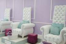 Manicure Pedicure Stations / Pedicure stations and nail bars that evoke imagination and inspiration through environment and interior design.